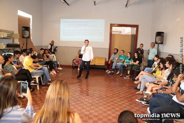 Coletivo discute com sociedade implantação de novos projetos em Campo Grande