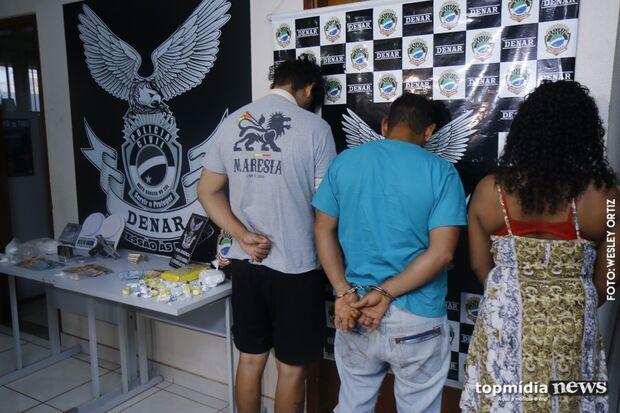 Megaoperação mira narcotráfico, bota quatro pessoas em cana e recolhe R$ 10 mil em Campo Grande