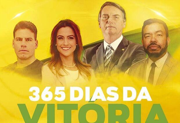 Soraya celebra 1 ano da vitória nas urnas e 'boicota' coronel David em agradecimento