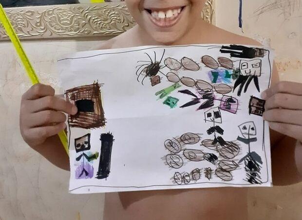 Criança autista é humilhada por causa de desenho e caso vai ser investigado