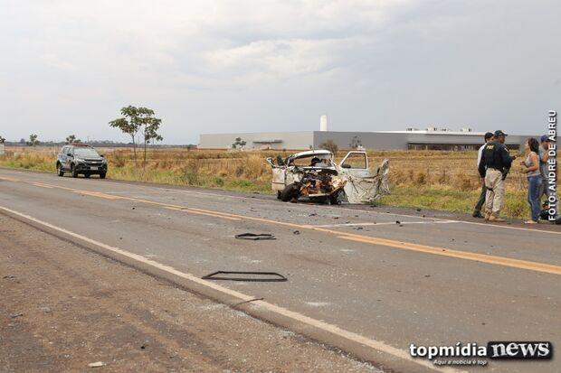 Violeiro bate carro em rodovia e morre na hora em Campo Grande