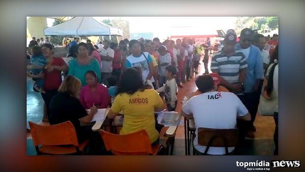 Amigos do Coração: 42 voluntários levam dia de saúde e serviços a índios Guarani Kaiowá