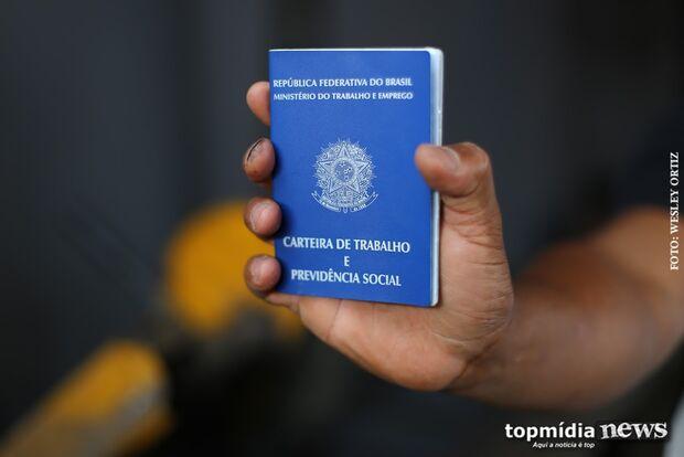 Última semana de outubro começa com 763 vagas de emprego em Mato Grosso do Sul