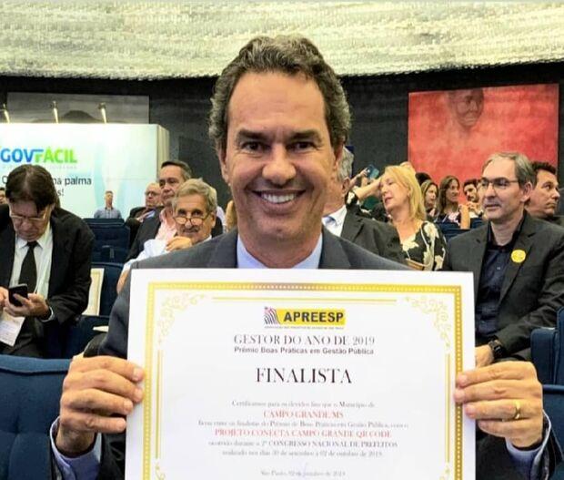 Marquinhos Trad é finalista do prêmio Gestor do Ano 2019