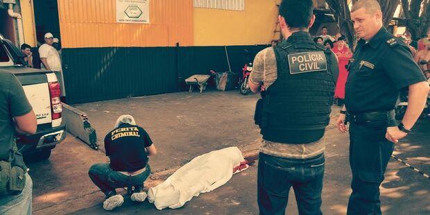 Homem de 35 anos é morto a tiros em rua de Dourados