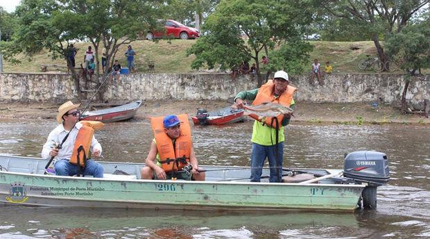 Porto Murtinho realiza campeonato de pesca com apoio do governo MS