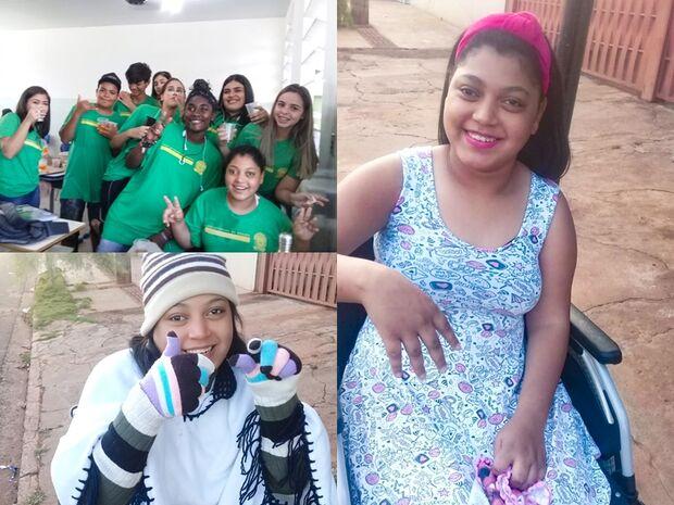 Com paralisia cerebral, Giovanna vence dificuldades, é destaque na escola e orgulho da mãezona
