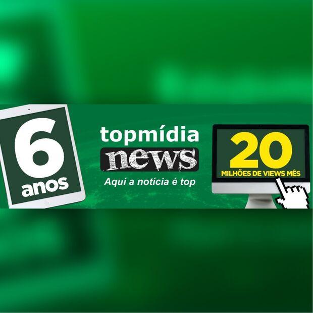 Seis anos, 20 milhões de views e novo layout: TopMídiaNews faz história
