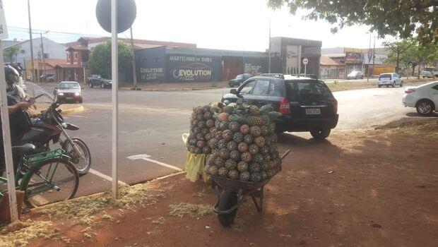 Vendedor de abacaxi ameaça servidores públicos e acaba preso por desacato