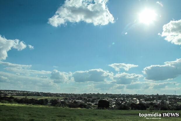 Sexta-feira de feriado será de sol e calor em Mato Grosso do Sul