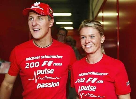 Esposa diz que Schumacher pediu silêncio sobre seu estado de saúde