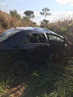 Passageiro contrata 'carona' e sofre acidente com motorista sem CNH