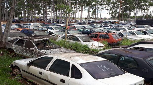 Operação Limpa Pátio: Detran/MS leiloa 182 veículos a partir de amanhã
