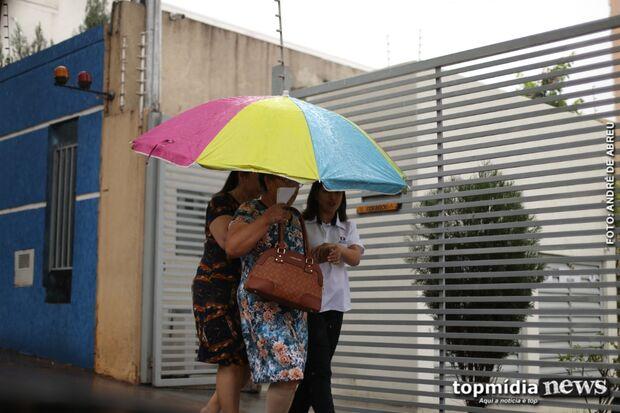 SEXTOU! Dia amanhece nublado e previsão é de chuva em todo Mato Grosso do Sul