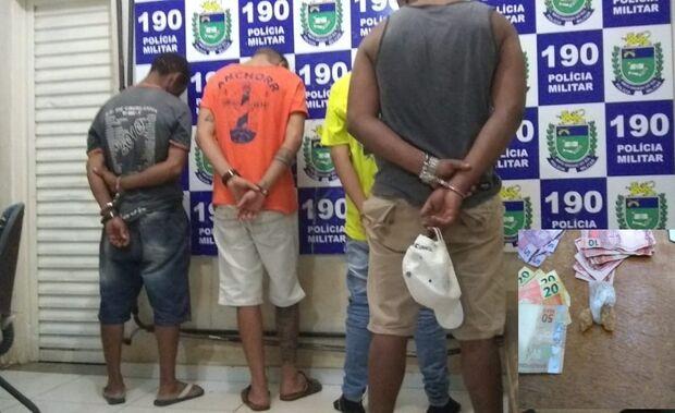 Quarteto é preso após bagunça na rodoviária de Três Lagoas