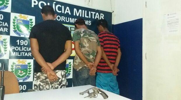 Polícia prende três homens acusados de matar rapaz em Corumbá
