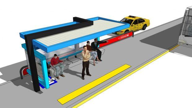 NOVIDADE: Campo Grande recebe os primeiros corredores de ônibus de pré-embarque