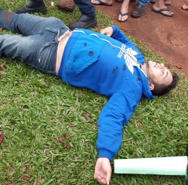 Homem é atingido por cerca de 16 tiros em Ponta Porã