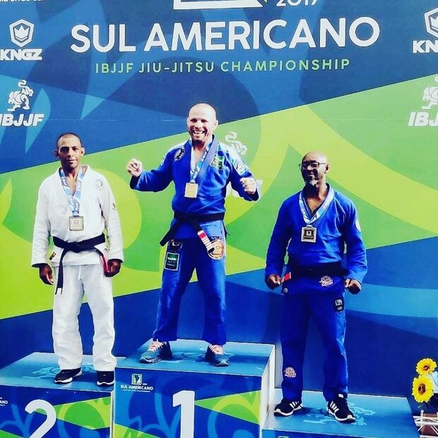 Atleta da Capital é campeão do Sul-Americano de jiu-jitsu