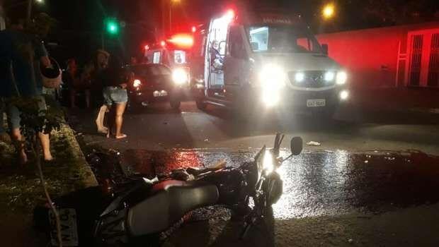 Vítima atingida por motorista bêbado está entre a vida e a morte
