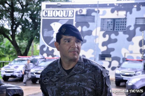 Comandante do Choque crava: 'se tiver crime, não importa aglomeração, tem que intervir'