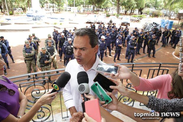 Container será base da Guarda Municipal na Praça Ary Coelho