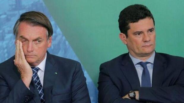 Bolsonaro diz que está descartada a possibilidade de desmembrar o ministério comandado por Moro