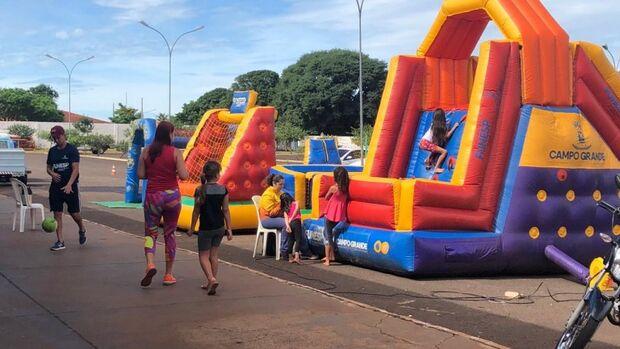 Crianças da Vila Nasser podem aproveitar últimos dias de férias em ação no bairro