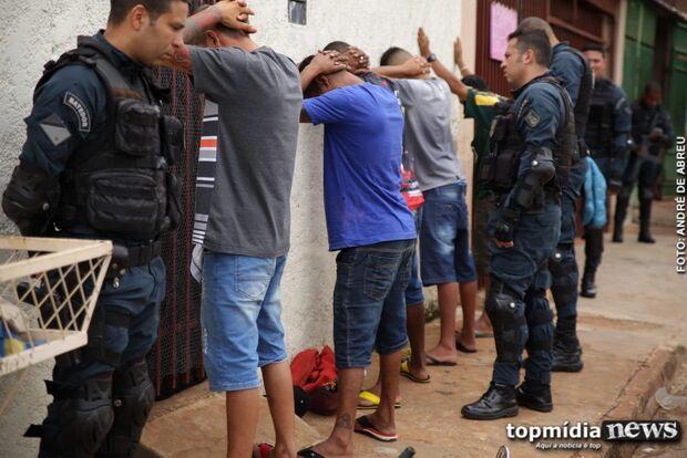 Laburu: polícia faz 'limpa' na Nhanhá e operação vai ser expandida pro resto de Campo Grande