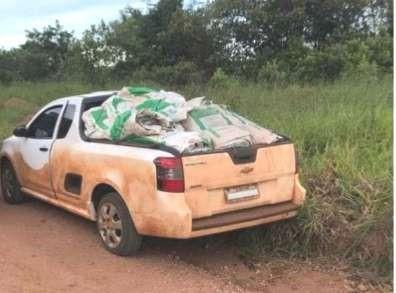 Agricultor vai preso ao contrabandear agrotóxicos do Paraguai