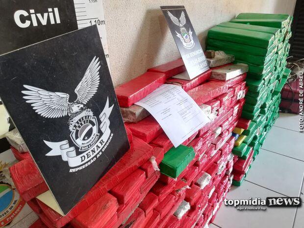 Quadrilha é presa no Nova Lima com droga que seria enviada para Sul e Nordeste do País