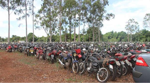 'Operação limpa pátio': ladrões levam 13 motos de depósitos do Detran em cidades do MS