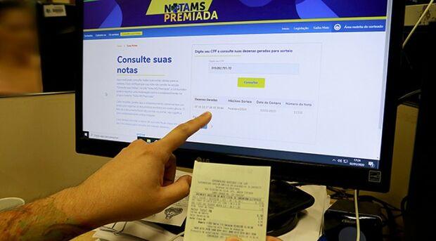 Nota MS Premiada está valendo e tem prêmio de R$ 300 mil