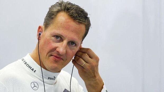 Schumacher está com corpo deteriorado e músculos atrofiados