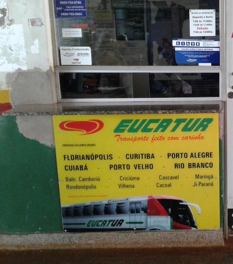 Procon/MS autua Eucatur por negar passagens grátis a idosos