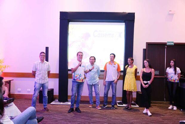 Evento reúne autoridades e atletas para lançar meia-maratona Cassems em Campo Grande