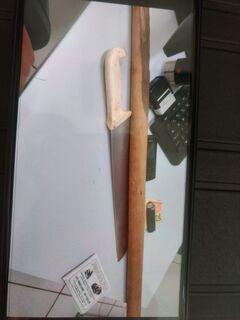 Criminoso que usava facão e pedaço de pau em assaltos é preso no Centro Oeste