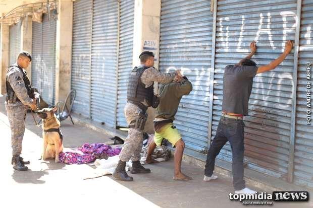 Operação Laburu: membro de facção e traficante são presos na antiga rodoviária