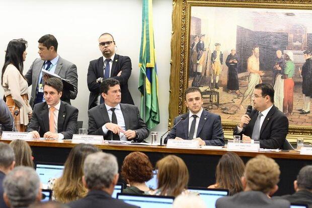 Fábio Trad elogia participação de Moro em audiência sobre prisão pós 2ª instância