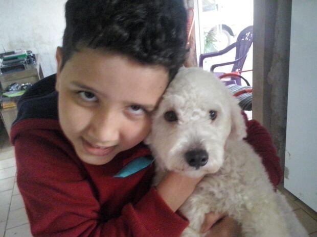 Cão desaparece e criança autista já teve duas convulsões pela falta do amigo