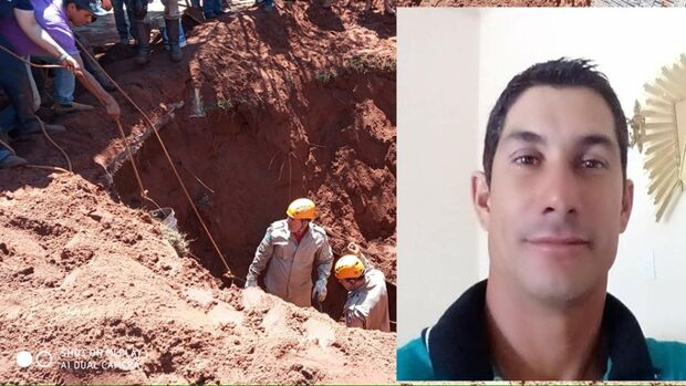 Trabalhador morre soterrado enquanto fazia fossa em Jateí