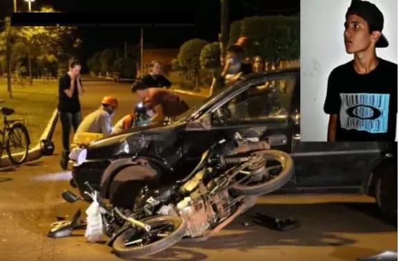 Motorista bêbado atropela e mata adolescente após toque de recolher