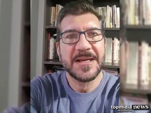 VÍDEO: deputado de MS diz que Bolsonaro é irresponsável e 'só fala besteiras'