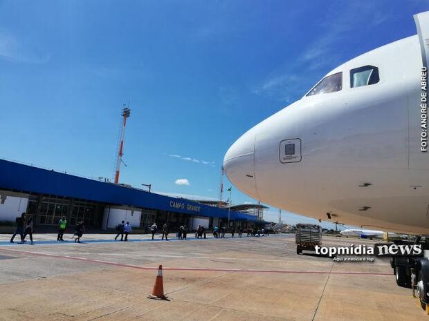 Marquinhos faz enquete sobre fechamento do aeroporto em Campo Grande