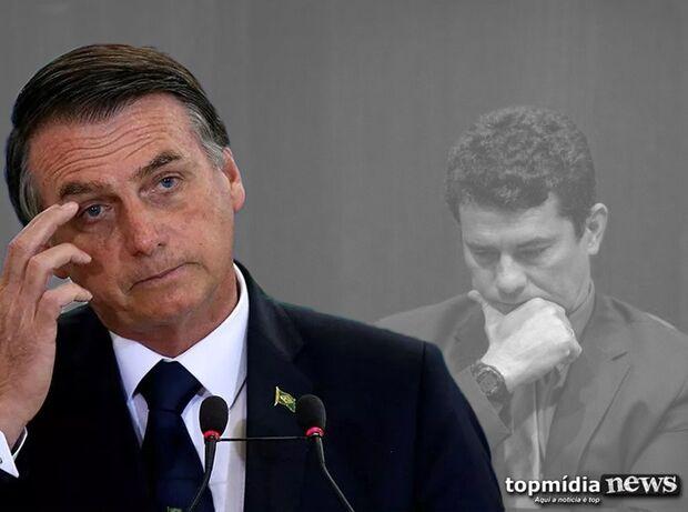Na Lata: Bolsonaro, idoso, não para, mas Moro some que é uma beleza