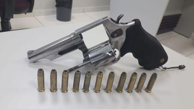 ENTERRADA: Esta foi a arma que matou dois nas mãos de guarda municipal
