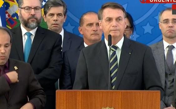 Bolsonaro ENFRENTA Moro e dispara: tem compromisso com ego e não com o Brasil