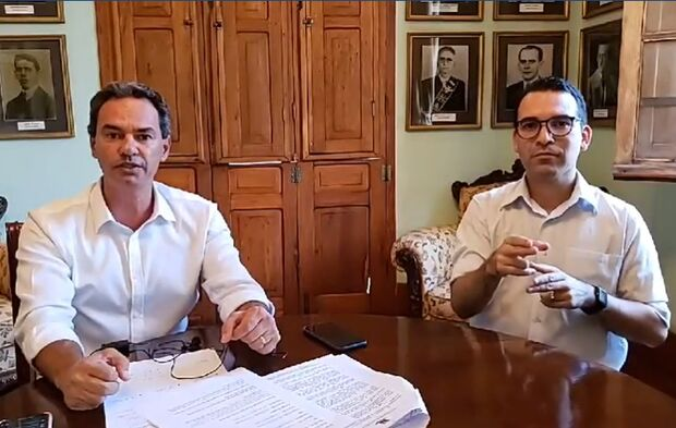 Marquinhos Trad convida população para corrente de oração contra surto do coronavírus