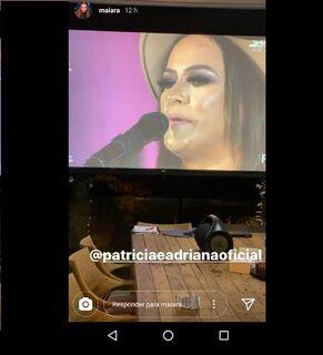 VíDEO: cantora Maiara diz que deseja gravar música com dupla Patrícia e Adriana