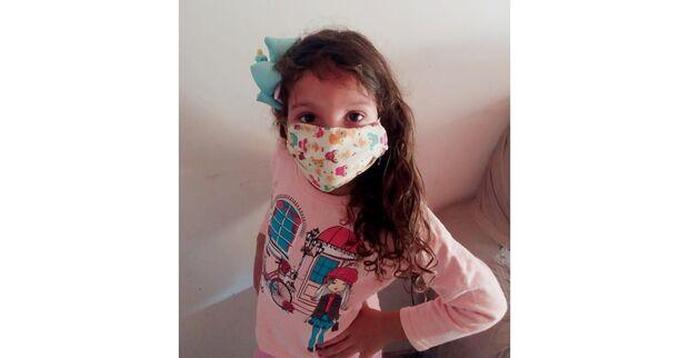 VÍDEO: com apenas 6 anos, Valentina dá aula em muito marmanjo sobre cuidados do coronavírus
